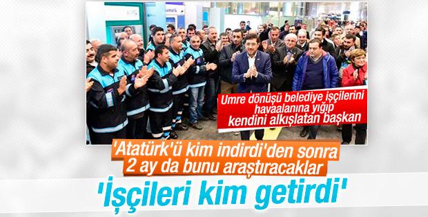 Murat Hazinedar'ı karşılayan işçiler CHP gündeminde