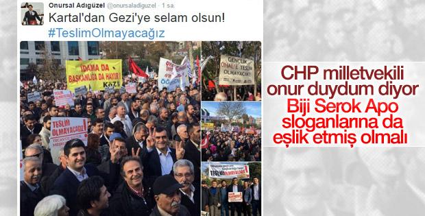 CHP'li vekiller HDP mitingine katıldı