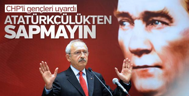 Kılıçdaroğlu'ndan gençlere Atatürkçülük uyarısı