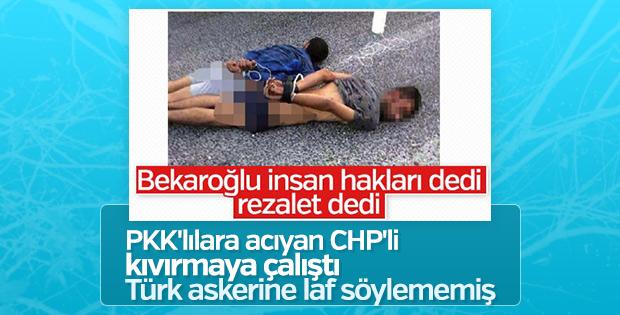 PKK'lılara üzülen CHP'li Mehmet Bekaroğlu açıklama yaptı