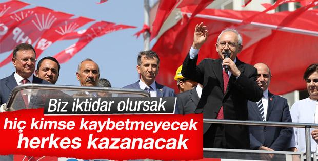 CHP Genel Başkanı Kılıçdaroğlu Hatay'da konuştu