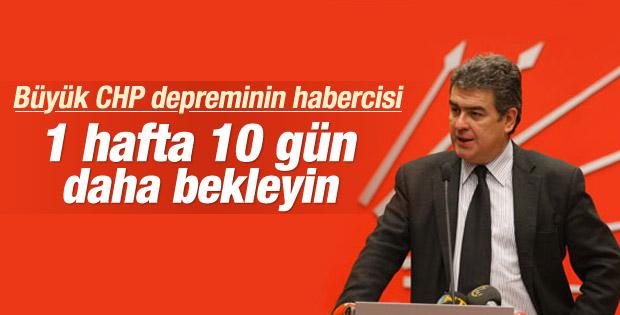 CHP'li Süheyl Batum yeni istifalar için tarih verdi