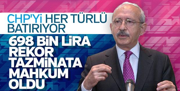 Kılıçdaroğlu rekor tazminat ödeyecek