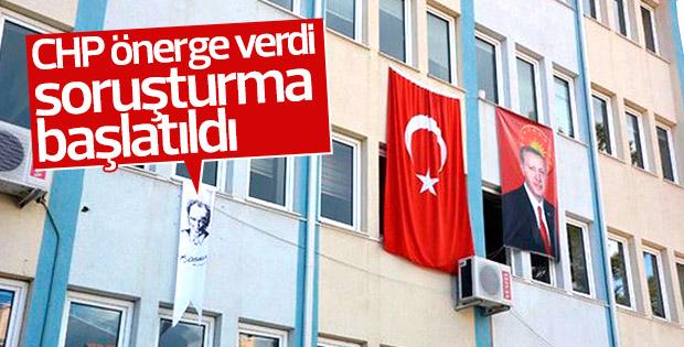 Bilecik'teki Atatürk flamasına soruşturma başlatıldı