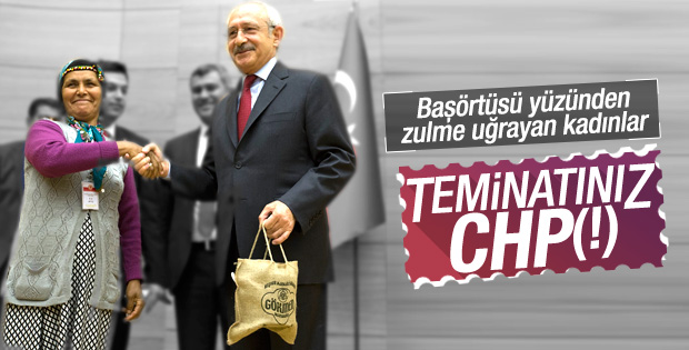 Kılıçdaroğlu: Başörtüsünün güvencesi CHP