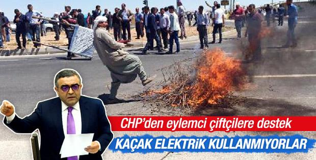 CHP'den 'sayaç karşıtı' çiftçilere destek