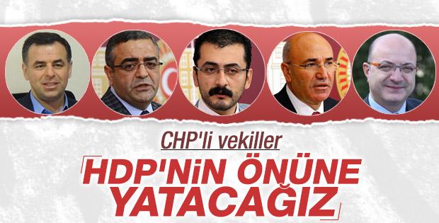 CHP içinde dokunma krizi