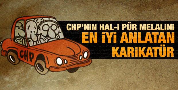 Akşam'dan CHP'yi en iyi anlatan karikatür