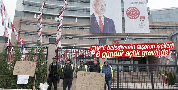 CHP'li Sarıyer Belediyesi'nin işçileri isyan etti