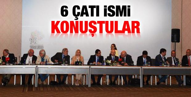 CHP'nin Büyük Uzlaşma toplantısından çıkan isimler