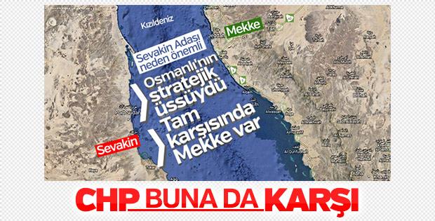 CHP'den Sevakin Adası çıkışı