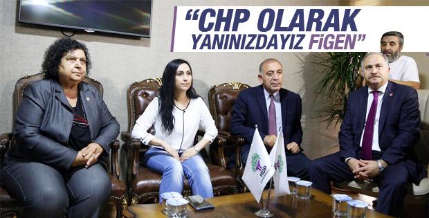 CHP'den HDP'ye geçmiş olsun ziyareti