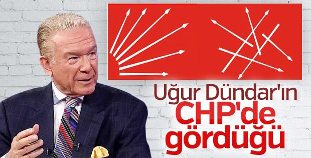 Uğur Dündar CHP'de karışıklık nedeniyle üzgün