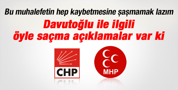 Davutoğlu'nun Başbakan olmasına muhalefetten ilk tepkiler