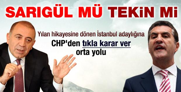 CHP: İstanbul'da küsmek yok