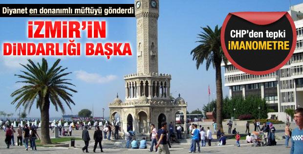CHP'li vekilden Diyanet'e İzmir yanıtı