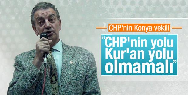CHP'li Hüsnü Bozkurt'a göre Kur'an CHP için tehlikeli