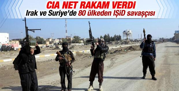 CIA tahmini IŞİD militanı sayısını açıkladı