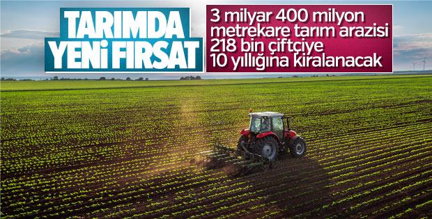 218 bin çiftçiye hazine arazisi verilecek