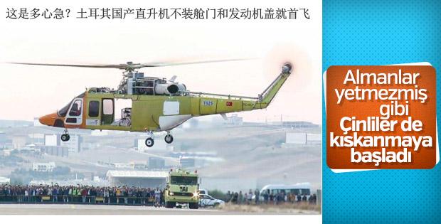 Türkiye'nin yerli helikopteri Çin medyasında