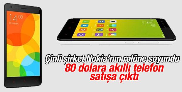 Xiaomi'den 80 dolarlık akıllı telefon