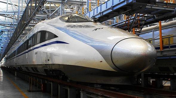 çin yüksek hızlı treni ile ilgili görsel sonucu
