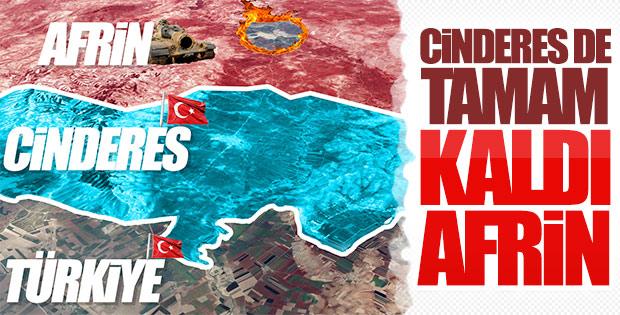 Zeytin Dalı'nda dikkatler Afrin'in merkezinde