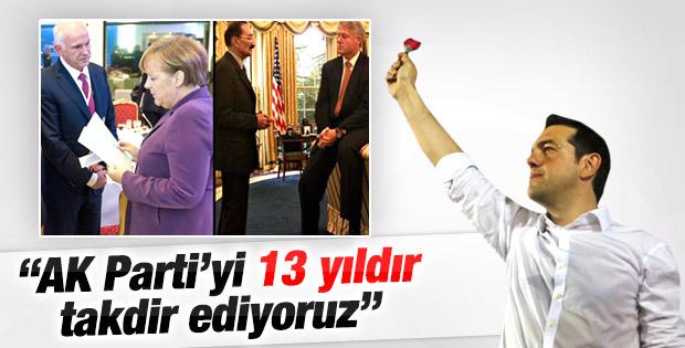 SYRIZA lideri: AK Parti'yi 13 yıldır takdir ediyoruz