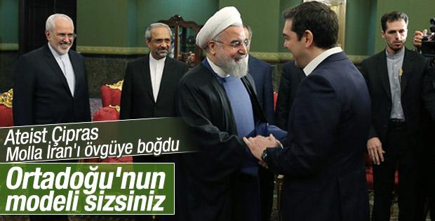 Çipras'tan İran'a övgü dolu sözler