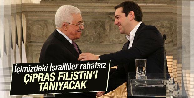 Çipras Yunan Parlamentosu Filistin'i tanıyacak dedi
