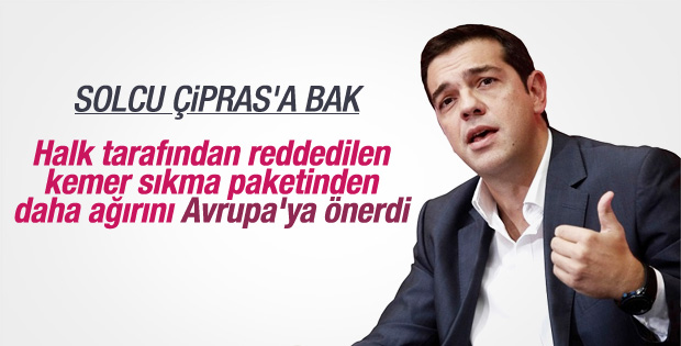 Aleksis Çipras'ın kemer sıkma paketi protesto edildi