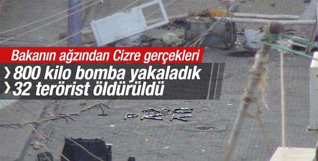 Selami Altınok: Cizre'de 32 terörist öldürüldü
