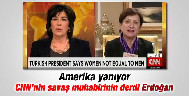 CNN muhabiri Ferguson'u değil Erdoğan'ı dert etti