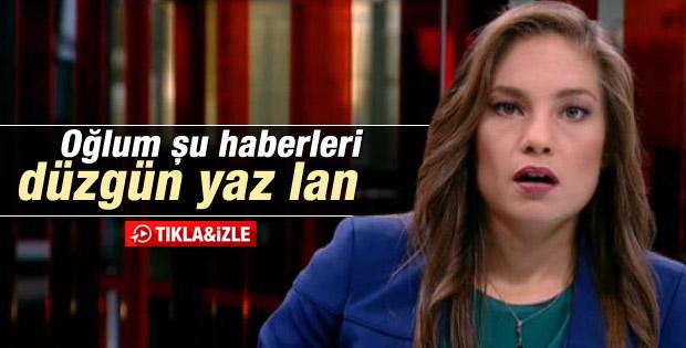 CNN Türk'te seslendirici mikrofonu açık unutunca - İzle