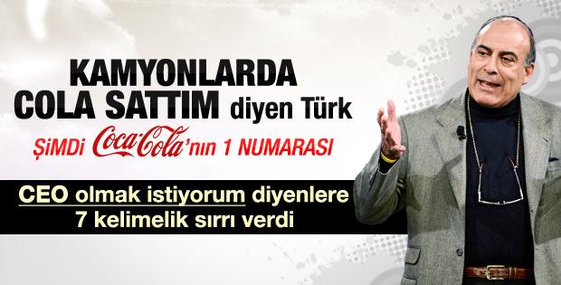 Coca-Cola CEO'su Muhtar Kent'ten başarının sırrı