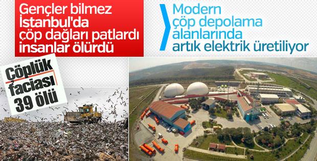 İstanbul'un çöpü elektriğe dönüşüyor