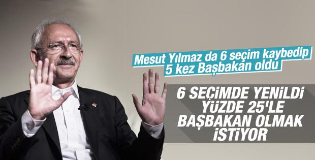 CHP'nin koalisyon şartı: Kılıçdaroğlu Başbakan olacak