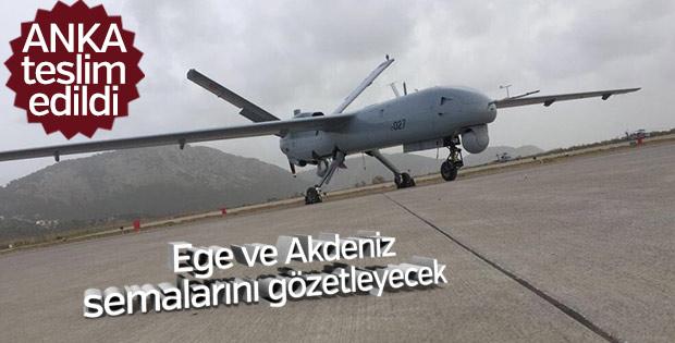 ANKA Türk Deniz Kuvvetleri'ne teslim edildi