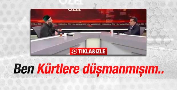 Cübbeli Ahmet Hoca: Ben Kürtlere düşmanmışım