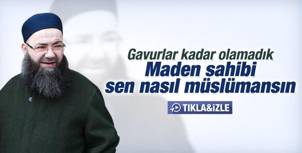 Cübbeli Ahmet Hoca Ermenek'teki maden faciasını yorumladı