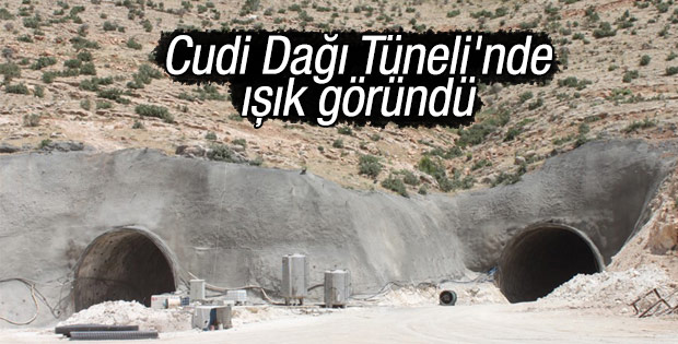 Cudi Tüneli'nde sona gelindi