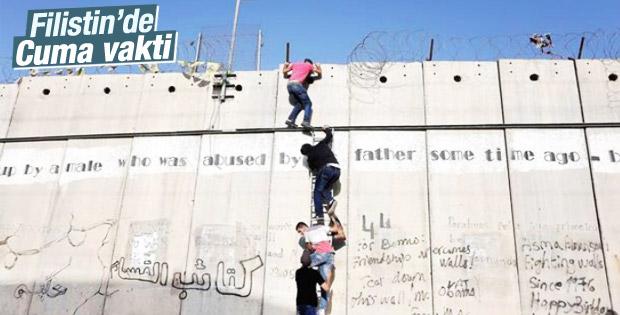 İsrail'in utanç duvarı Filistinli gençleri durduramadı