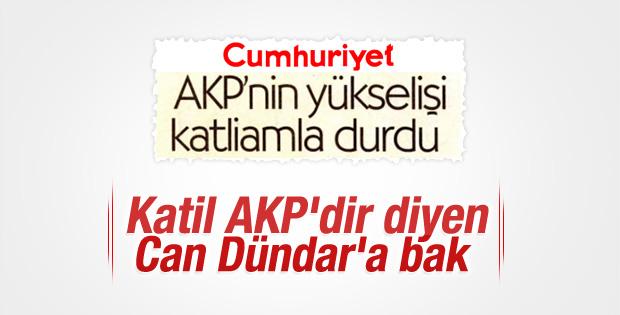 Cumhuriyet'e göre Ankara saldırısı AK Parti'yi durdurdu