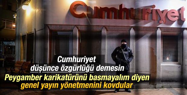 Utku Çakırözer Cumhuriyet gazetesinden kovuldu