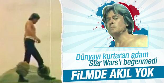 Cüneyt Arkın: Star Wars gerici bir film