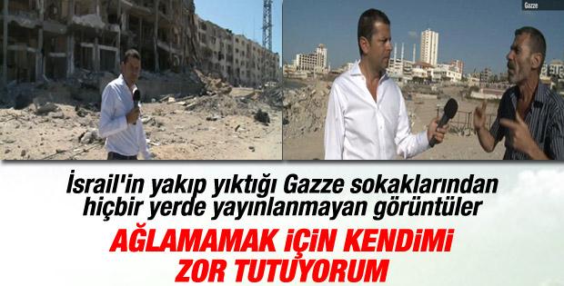 Cüneyt Özdemir'den Gazze dosyası