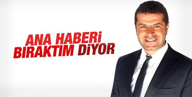 Cüneyt Özdemir ana haberi sunmayacağını açıkladı