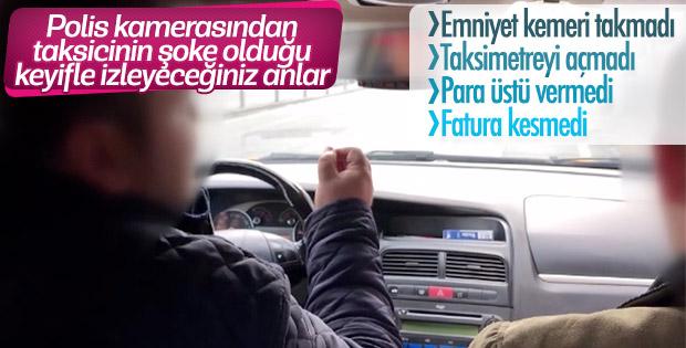 'Taksi Uygulaması 2018/2' ile 10 ilde eş zamanlı denetleme