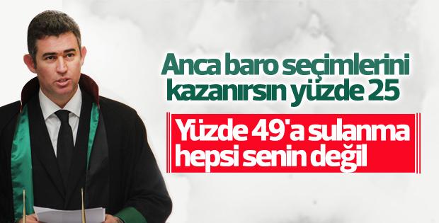 Metin Feyzioğlu, TBB başkanlığına seçildi