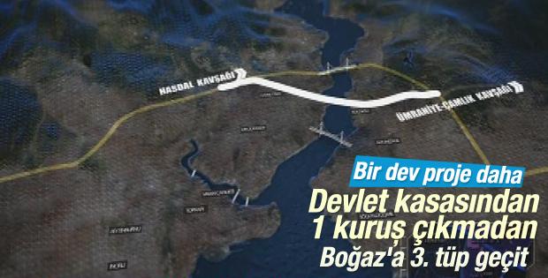 İstanbul'a 3. tüp geçit